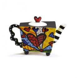 Teiera con infusore New Day - Romero Britto