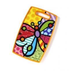 Tagliere plastica e mdf Farfalla - Romero Britto