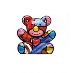 Figurina Orso Cuddly - Romero Britto