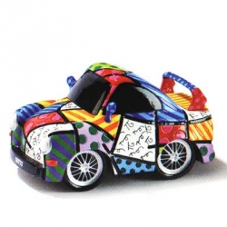 """Figurina auto """"Sport"""" - Romero Britto"""