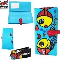 Portafoglio pesce - Romero Britto