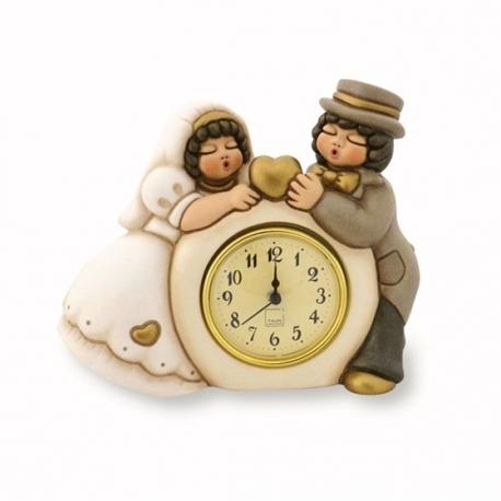 orologio coppia sposini thun idea regalo design