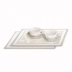 Set 2 tazze cappuccino + 2 tovagliette americane l.e. 2015 - Thun
