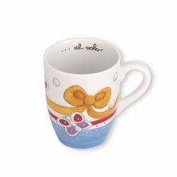 Mug everyday farfalle e fiocco - Thun