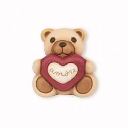 Teddy con cuore scritta amore - Thun
