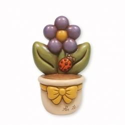Vasetto con primula e coccinella - Thun