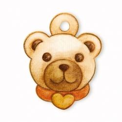 Chiudipacco testa teddy 3 pezzi - Thun