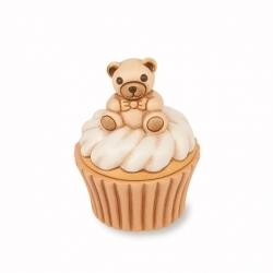 Teddy lei battesimo con scatolina ceramica - Thun