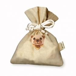 Spilla teddy + sacche. Stoffa portaconfetti - Thun