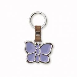Portachiavi anello shiny farfalla - Thun