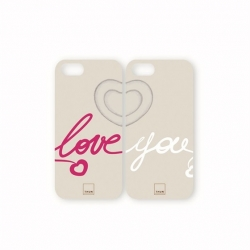 Guscio smartphone five double love (san valentino) - Thun