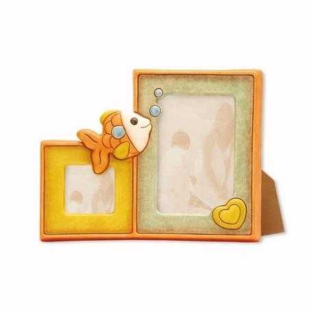 Portafoto doppio pesciolino thun idea regalo design - Porta foto thun ...