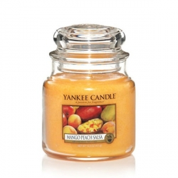 Mango Peach Salsa Giara Media - Yankee Candle