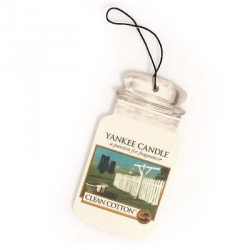 Clean Cotton Car Jar - Yankee Candle