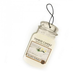 Fluffy Towels Car Jar - Yankee Candle