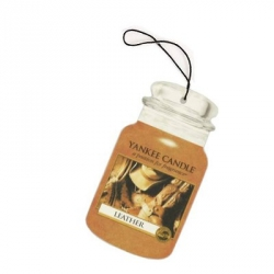 Leather Car Jar - Yankee Candle