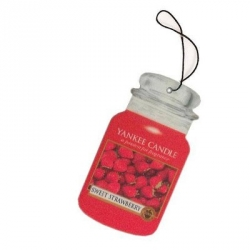 Sweet Strawberry Car Jar - Yankee Candle