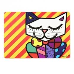"""Segnaposto """"gatto"""" - Romero Britto"""