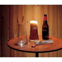 Splügen, Apribottiglie, bicchiere per birra - Alessi