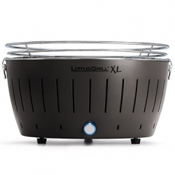 Barbecue a carbone XL, nero - Lotus Grill
