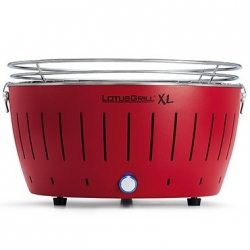 Barbecue a carbone XL, rosso - Lotus Grill