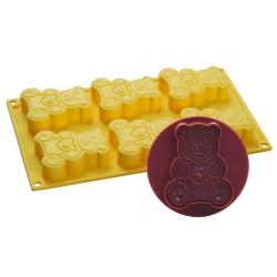 Stampo per gelato biscotto Orso Fosco - Pavoni
