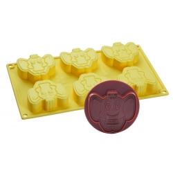Stampo per gelato biscotto Elefante Dante - Pavoni