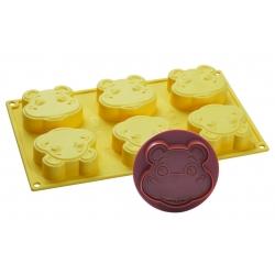 Stampo per gelato biscotto Ippopotamo Pippo - Pavoni