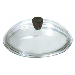 Coperchio vetro Cm. 24 pomolo soft touch - Pentolpress