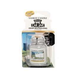 Clean Cotton, Car Jar Ultimate - Yankee Candle