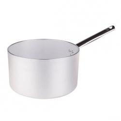 Casseruola alta in alluminio un manico inox cm. 28 - Agnelli