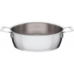 Pots&Pans, Casseruola bassa a due manici Ø 24 - Alessi