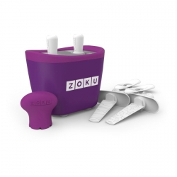 Zoku 2 quick pop maker per ghiaccioli immediati viola - Zoku