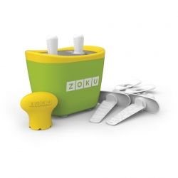 Zoku 2 quick pop maker per ghiaccioli immediati verde - Zoku
