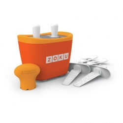 Zoku 2 quick pop maker per ghiaccioli immediati arancione - Zoku