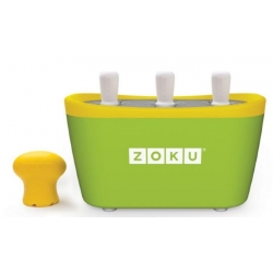 Zoku 3 quick pop maker per ghiaccioli immediati verde - Zoku
