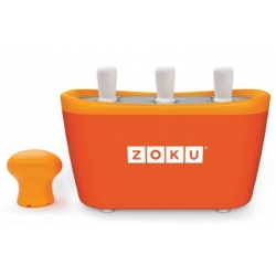 Zoku 3 quick pop maker per ghiaccioli immediati arancione - Zoku