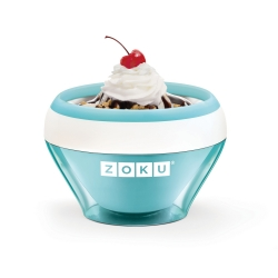 Ice Cream Maker, Ciotola per gelato azzurro - Zoku
