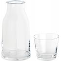 Tonale, Caraffa e bicchiere. - Alessi