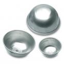 Mezza sfera in alluminio Ø Cm. 22x10 H. - Decora
