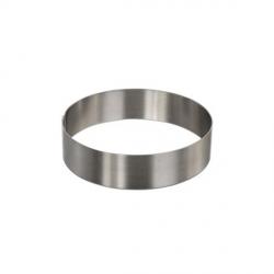 Cerchio inox Ø Cm. 8x4 H. - Decora