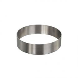 Cerchio inox Ø Cm. 9x4 H. - Decora