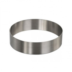 Cerchio inox Ø Cm. 20x4 H.- Decora