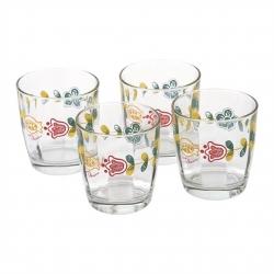 Set 4 bicchieri in vetro Orianne - Thun