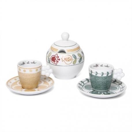 Set 2 tazzine espresso zuccheriera orianne thun idea - Catalogo thun casa ...