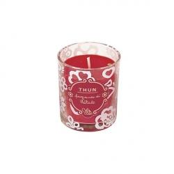 Candela in vasetto di vetro medio Natale - Thun