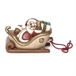Slitta con Babbo Natale - Thun