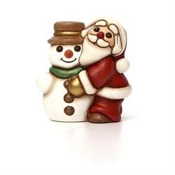 Babbo Natale con pupazzo di neve - Thun