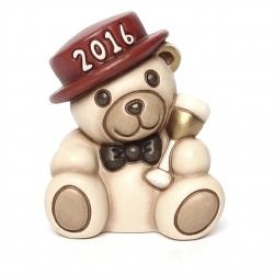 Teddy buon anno 2016, rosso - Thun