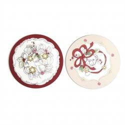 Confezione 2 sottopentola in sughero, Dolce Natale - Thun